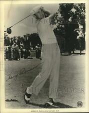 Press Photo Pro golfer Henry Ransom - tus06544
