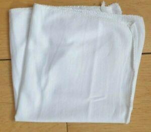 Lint Free Cloths Rustins White Cloth Oil Dye Wax Polish Dusting Cleaning 30x30cm