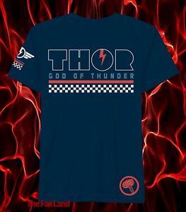 New Marvel Comics Thor God of Thunder Mens Vintage T-Shirt