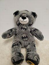Build a Bear Batman Superhero Themed Teddy DC Comics 17in. Stuffed Toy Animal