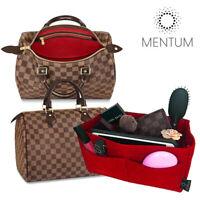 Handbag Tote Red Organizer Insert fits Louis Vuitton Speedy 35 Neverfull MM