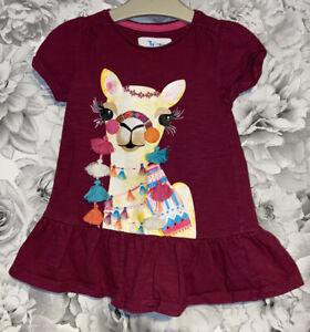Girls 18-24 Months - TU Sainsbury's Tunic Llama Top