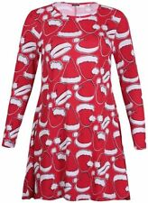 L Langarm Damenkleider im Tuniken-Stil