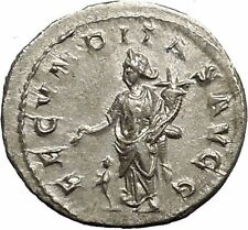 Herennia Etruscilla Hostilian mother Silver Ancient Roman Coin Fertility i52230