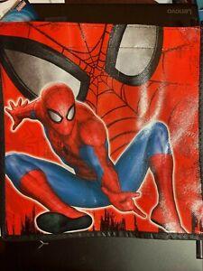 Marvel Spider-Man Small Tote Bag REUSABLE GIFT BAG NWT BOYS' PARTY HALLOWEEN BAG