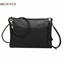 Women Small Handbag Casual Crossbody Messenger Shoulder Bag Faux Leather Clutch