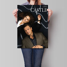 Castle TV Series Poster Nathan Fillion Stana Katic 16.6 x 23.4 in (A2)