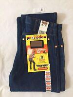 Vintage Wrangler USA Men 30x40 Pro Rodeo Cowboy Cut 13MWZ Original Fit Jeans-NOS