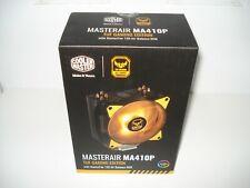 Cooler Master MASTERAIR MA410P TUF Gaming Edition RGB CPU Air Cooler, 4 CDC 2.0