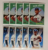 2018 Topps Archives Ozzie Albies (10) Lot Rookie Braves