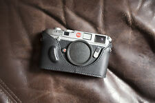 Handmade Genuine Real Leather Half Camera Case Bag Cover for Leica M6 MP