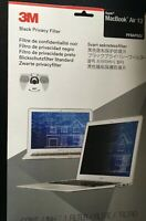 Original 3M PFNAP002 Frameless Black Privacy Filter for Apple 13Inch MacBook Air