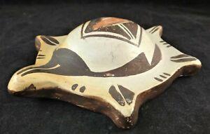 "Vintage Native American Hopi Pottery - Rachel Nampeyo - Turtle Form. 5 ¼"" x 4""."