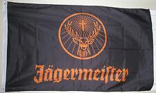 Large 3' x 5' NEW never opened Black Jägermeister Flag - Banner - Backdrop