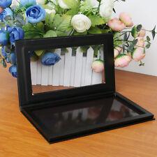 Black Pro Empty Magnetic Makeup Palette DIY Eyeshadow Palette Large Size Useful