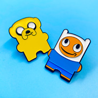 *2 PACK* Adventure Peccy Pin Set