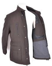 NEW HUGO BOSS MEN'S BROWN $550 TABOS MILITARY RAIN COAT JACKET 38 48