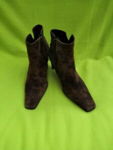 GABOR DESIGNER SUEDE ANKLE BOOTS - SIZE 5 - GOOD CONDITION