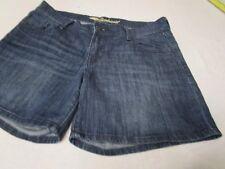 Old Navy Boyfriend Women's Casual Walking Hiking Blue Jean Denim Shorts Size 4
