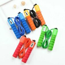 Us!Home Sports Fitness Skipping Counting Pvc Jump Rope Adjustable Bearing Speed