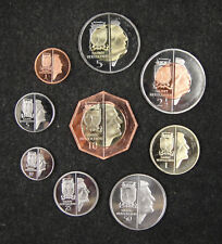 NETHERLANDS Saint Eustatius Coins Set of 9 Pieces 2014, Fantasy Coinage