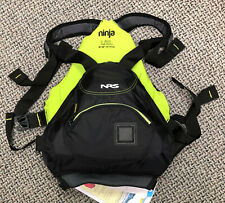 NRS Ninja PFD - Small/Medium Black/yellow - new life jacket