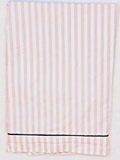 Pottery Barn Teen Emily & Meritt Bedding Flat Sheet Pirate Stripe Pink Twin XL