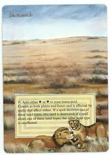 ***1x Savannah*** MTG Revised Altered Art -Kid Icarus-