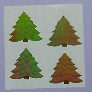 🦁Sandylion Abriss Pearly Weihnachtsbaum Tannebaum Scrapbooking Sticker selten🦁