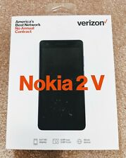 Verizon Wireless Nokia 2V 8GB Prepaid Smartphone, Black