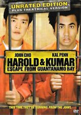 Harold & Kumar Escape From Guantanamo Bay - Unrated Plus Theatrical Edition DVD