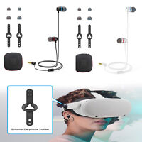 Noise Isolating Headset Portable In-ear Earphones for Oculus Quest 2 VR Glass