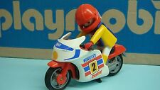 Playmobil Racing Motorcycle 3303 for collectors mini toy with klicky 164
