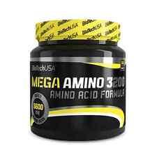 BioTech USA MEGA AMINO 3200 300 Tab Amino Acid Formula FREE WORLD SHIPPING !!!