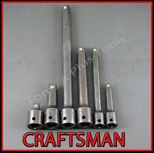 CRAFTSMAN AIR TOOLS 6pc IMPACT socket wrench extension/adapter set (FREE SHIP)