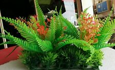"Aquarium Artificial / Plastic Plant  for Decoration - 8"" Length 5"" Height #1841"