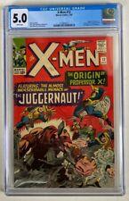 X-Men #12 CGC 5.0 WHITE PAGES Origin & 1st app. of the Juggernaut!L@@K!