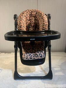 My Babiie MBHC8 Christina Milian Leopard Premium Highchair