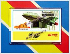DINKY 101 THUNDERBIRDS 2 & 4 ADVERT POSTER NEW JUMBO FRIDGE / LOCKER MAGNET