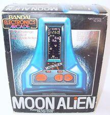 Bandai Arcade MOON ALIEN Electronic LSI Tabletop Handheld Space Game NMIB RARE!