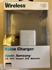 Just Wireless USB Home Phone Charger - For Apple iPhone Samsung Galaxy - White
