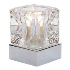 Ice Cube Corded Table Lamps