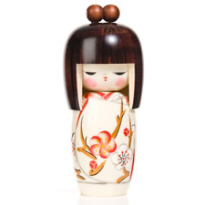 Spring Dream Authentic Japanese Wooden Kokeshi Doll