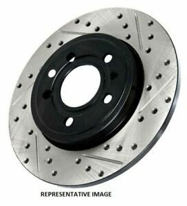 Stoptech Sport Slotted/Drilled Brake Rotor;Front & Rear Right - 127.33078R