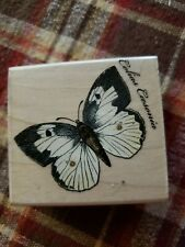 2001 Hero Arts Butterfly Rubber Stamp Colias Caesonia