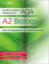 Very Good, Student Support Materials for AQA - A2 Biology Unit 4: Populations an