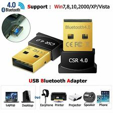 Bluetooth CSR4.0 Adapter Mini USB 2.0 Wireless Dongle for PC LAPTOP WIN 7 8 10