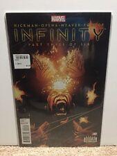 Infinity #3 Three Hickman Comic Book