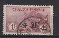 FRANCOBOLLI 1922 FRANCIA PRO ORFANI C.25 SU 1+1 FR. Z/4103