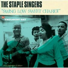 The Staple Singers - Swing Low Sweet Chariot / Uncloudy Day [New CD] Bonus Track